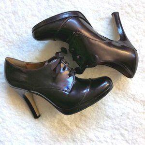 Circa Joan & David Oxford Heels Patent Leather